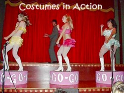 Burlesque Costumes in Action