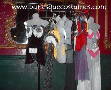 Burlesque Costumes Clothing Rack